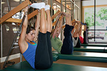 pilates austin private group classes tower stretch