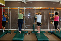 pilates austin private group classes starting position