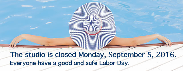 Body Springs Studio will be closed for Labor Day 2016