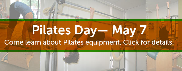Come to Body Spring Pilates studio on Pilates Day May 7 2016.