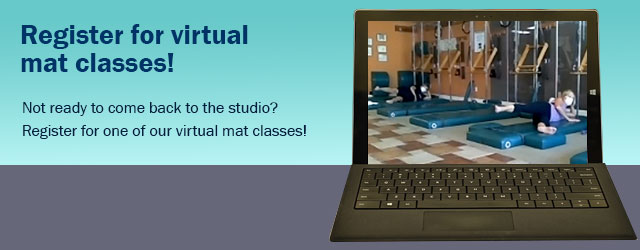 Virtual mat Pilates classes  at Body Springs Studio Austin