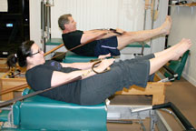 pilates duet backstroke