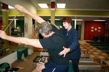 pilates vicki hickerson teaching